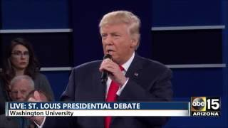 Presidential Debate - Extreme vetting immigration - Hillary Clinton vs. Donald Trump