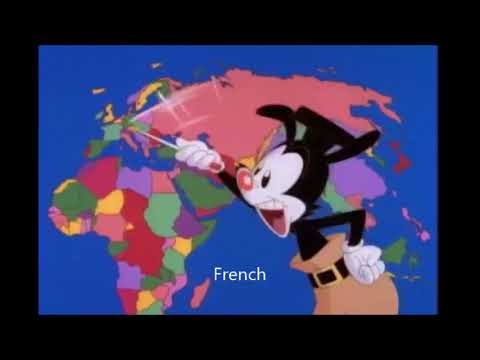 Yakko's World - Multilanguage BEST VERSION! [Animaniacs]