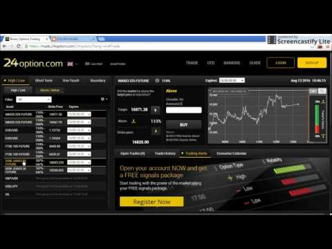 - Binary Options Trading