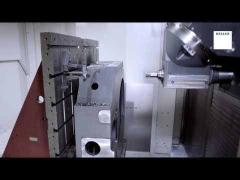 5-Achs-Bearbeitungszentrum HELLER FP 16000 - Frässchlitten Bearbeitung
