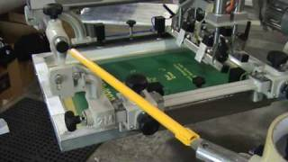 RPM Revolution automatic screen printing press