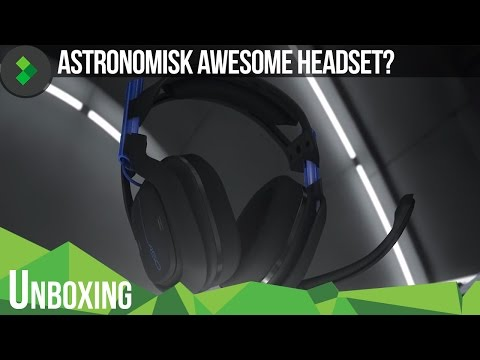 Unboxing: Astro A50