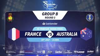 Франция до 21 : Австралия до 21