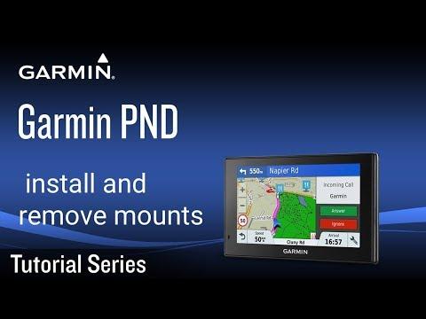 Tutorial - Garmin PND: Install And Remove Mounts
