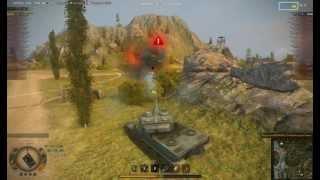 Лучший Бой WoT -- AMX 50 120  -12 танков 7000 дамага