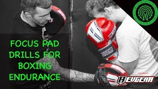 Focus Pad Drills for Boxing Endurance Tutorial