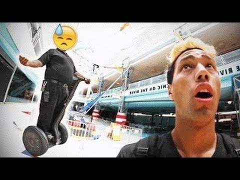 BUSTED! CREEPIEST ABANDONED MALL IN AMERICA! Travel tips