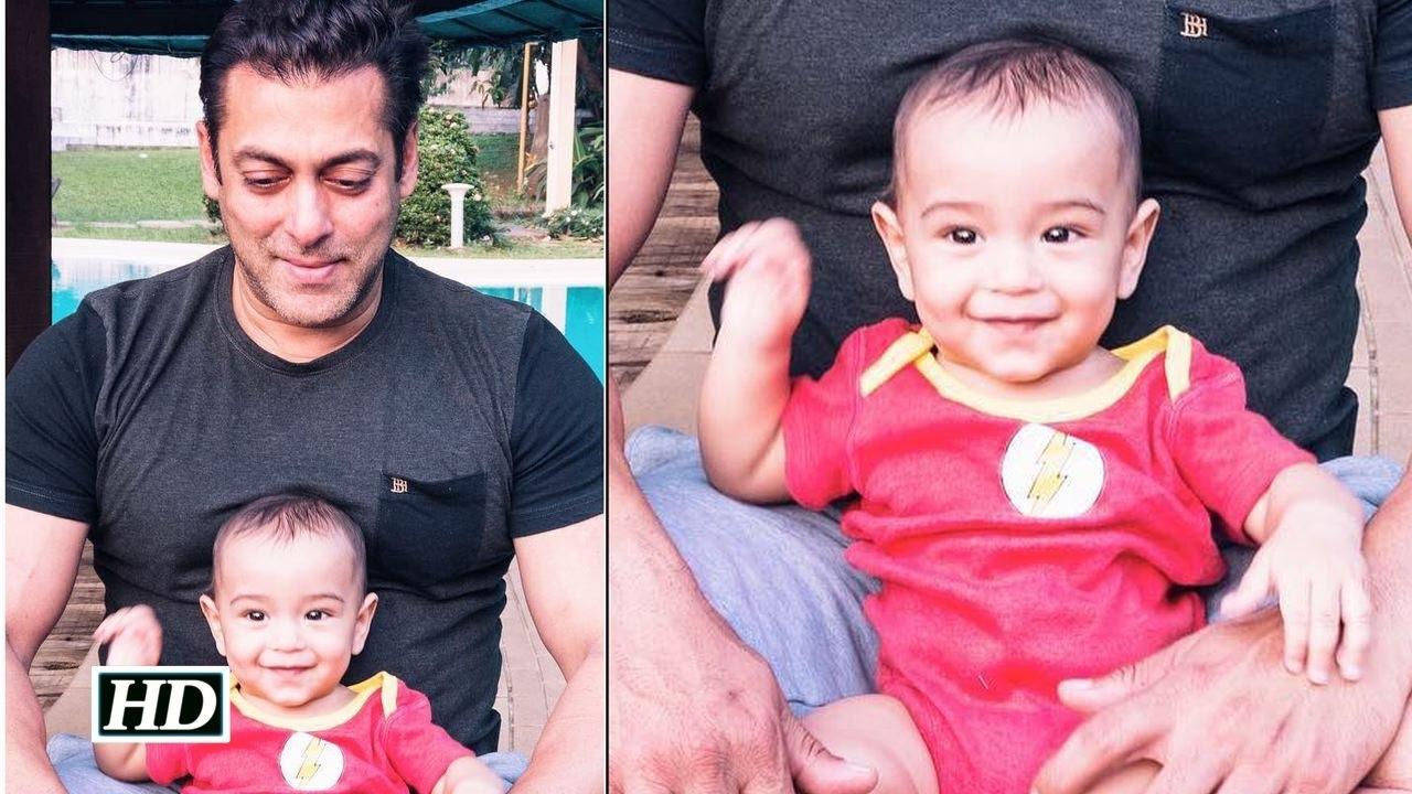 Salman Khan's play time with Baby Ahil