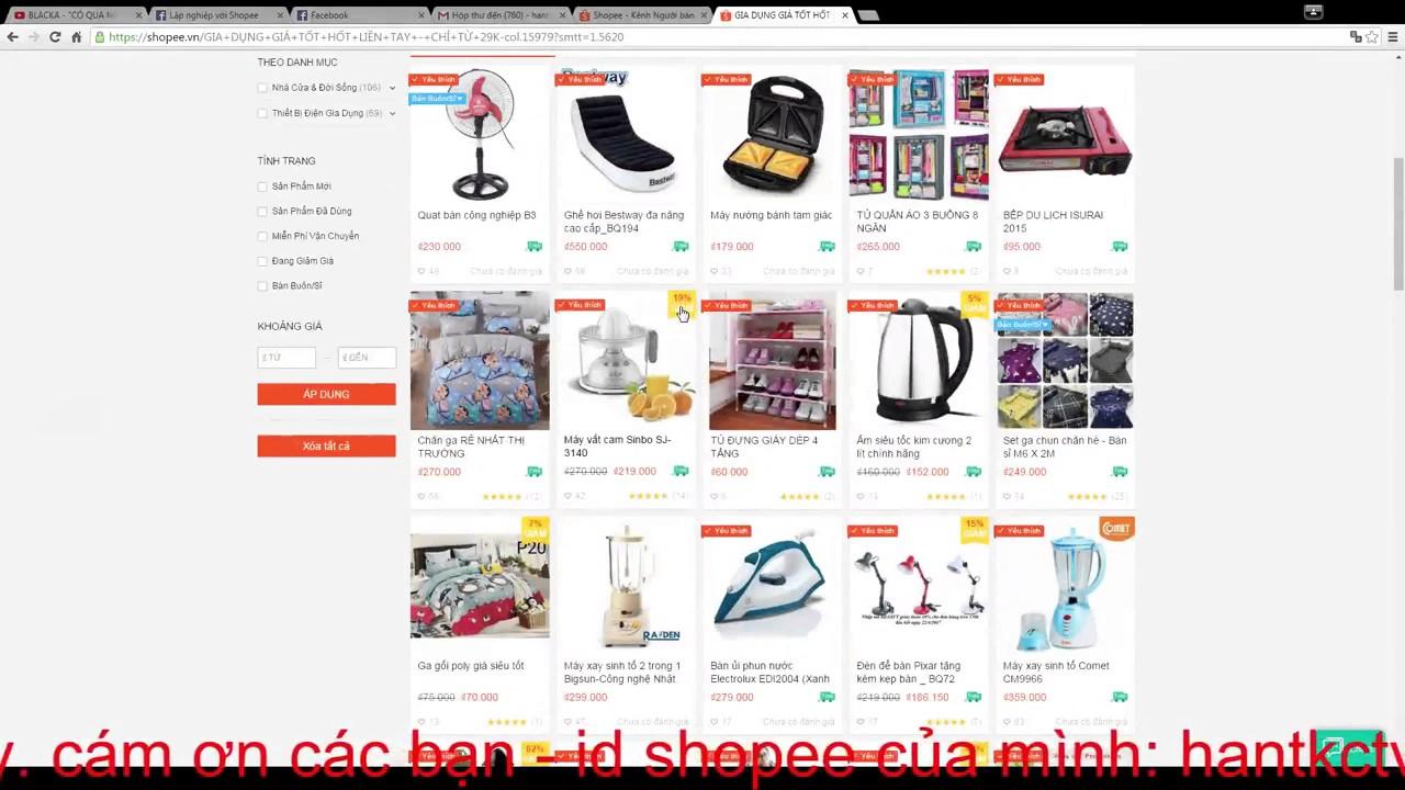 Hướng dẫn gắn tag giảm giá trên Shopee