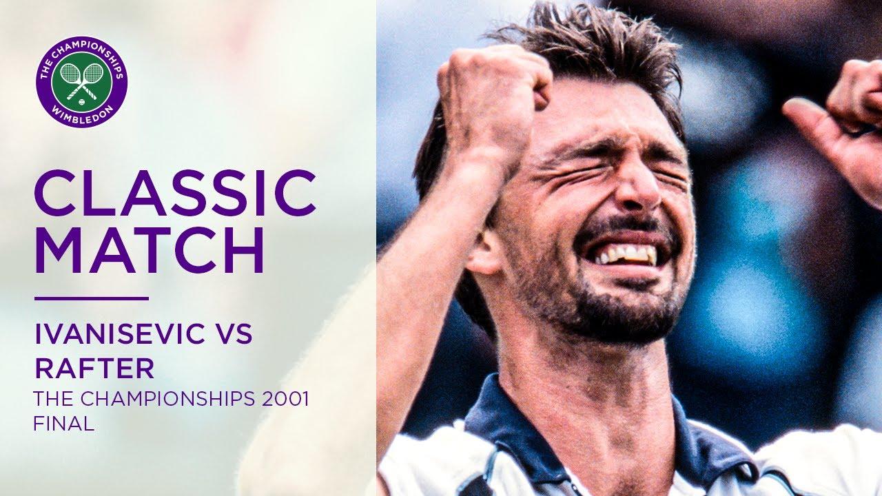 Goran Ivanisevic vs Pat Rafter | Wimbledon 2001 Final | Full Match