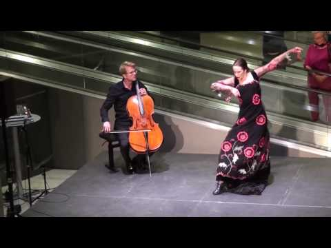 Flamenco for cello solo