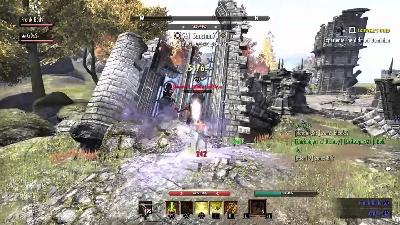 how to get into pvp in eso
