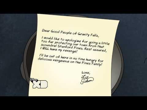 Revenge - Gideon Letters - Gravity Falls - Disney XD Official