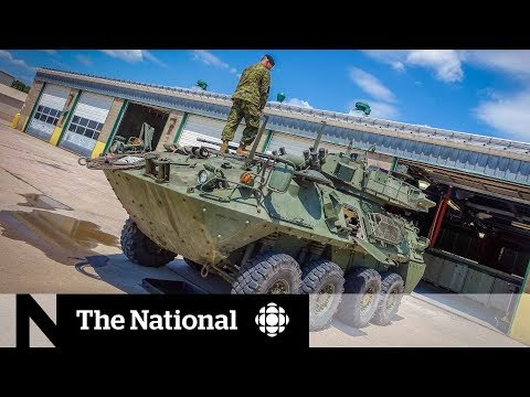 Canadian Military Still Uses Armoured Vehicle With Deadly Fault