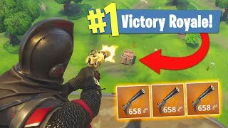 *NEW* SILENCED PISTOL ONLY CHALLENGE!! (Fortnite Battle Royale)