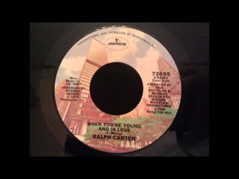 Ralph Carter - When You're Young and in Love - Disco
