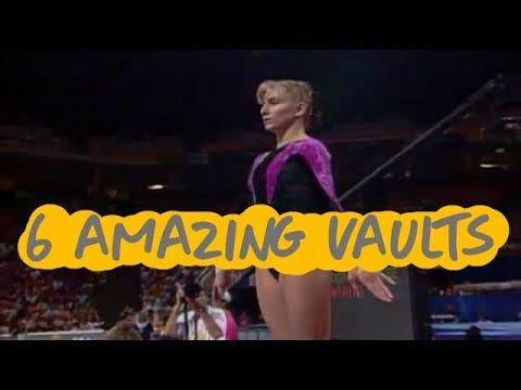 Gymnastics - 6 Amazing Vaults