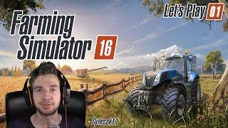 Farming Simulator 16 ► Let's Play Česky ► #01 ► Mobilní farma! ► synecek11