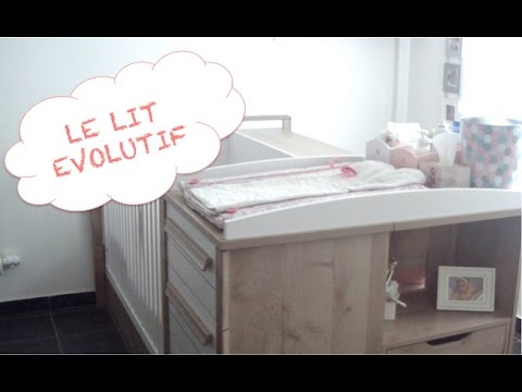 9 le lit evolutif chambre transformable youtube - Bebe Lit Evolutif