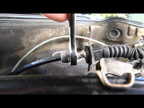 Bowden cable on MB transmission, 722.303