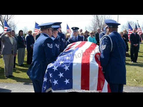 MSGT Peter I  Wojtowicz, United States Air Force Final Farewell