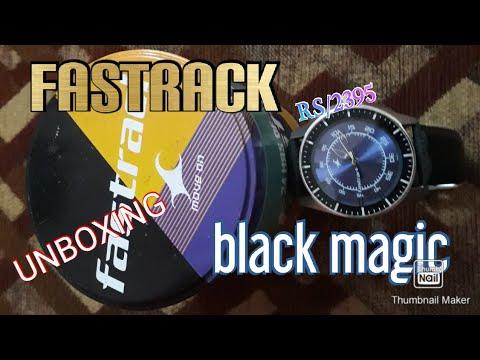 Fastrack Latest Watch Unboxing (Black Magic Analog)