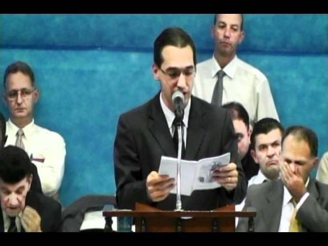 20.05.2012 - Encontro Regional de Pastores em Campinas/SP - Encerramento - Ev. Wesley Rodrigues