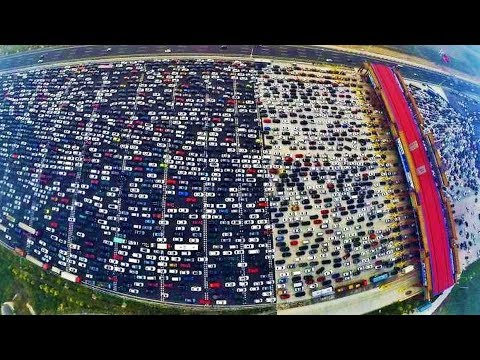 UNBELIEVABLE Traffic Jam Situations !