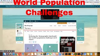 Scheduled Premiere: World Population Challenges 4PM EST 9/20