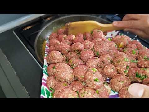 boulette-de-viande-hachée-et-pomme-de-terre