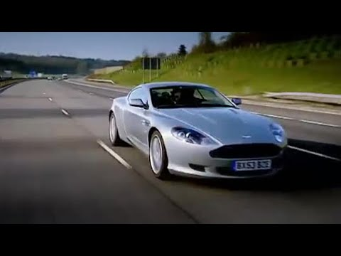 Aston Martin DB9 Race to Monte Carlo - Top Gear - BBC