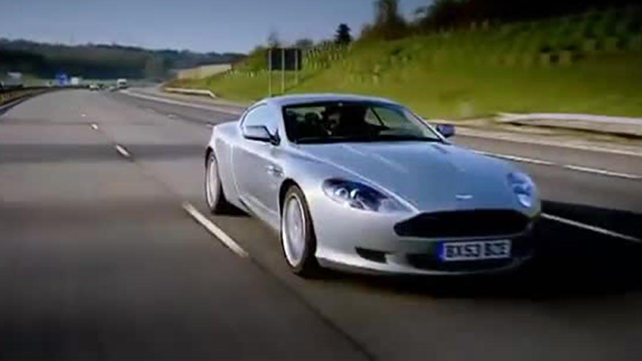 Aston Martin Db9 Race To Monte Carlo Top Gear Youtube