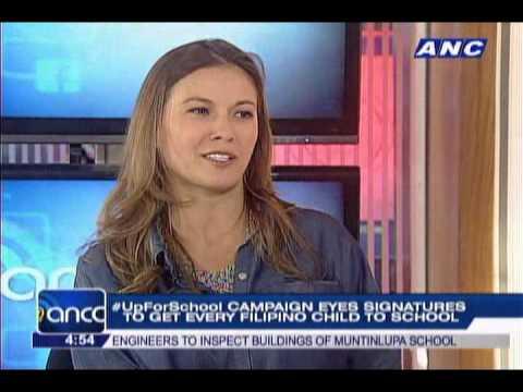 #UpForSchool needs signatures to bring Filipino kids to school