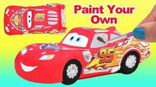 CARS Paint Your Own LIGHTNING McQUEEN Disney Pixar Film Movie Character