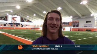 Trevor Lawrence discusses why the situation with the New York Jets doesn't affect him | 12/16/20
