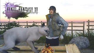 Final Fantasy XV (A Feline Feast) Catch A Dark Allural Sea Bass