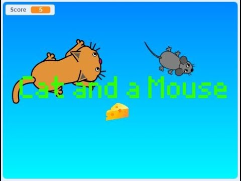 Scratch Tutorial Cat And Mouse Game Easy Scratch Tutorial Youtube