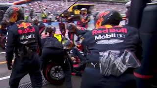 Мировой рекорд пит-стопа от Red Bull (1.88) | Гран При Германии 2019