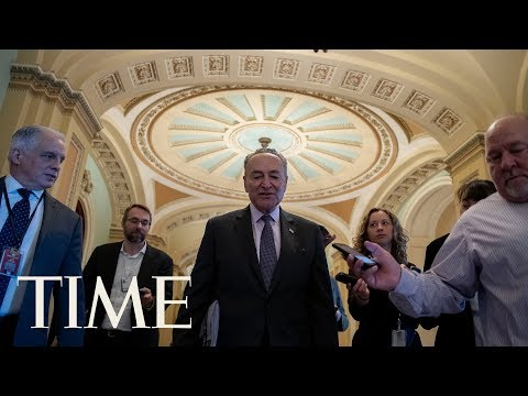 US Senate Considers The House Bill Following Approved Funding For Trump's Border Wall | TIME