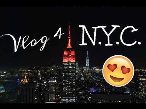 VLOG à New-York: Columbia, Friends & Manhattan by night!