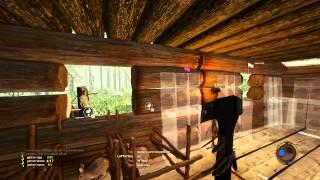 The Forest - Онлайн - Строим крепость с неуязвимым забором