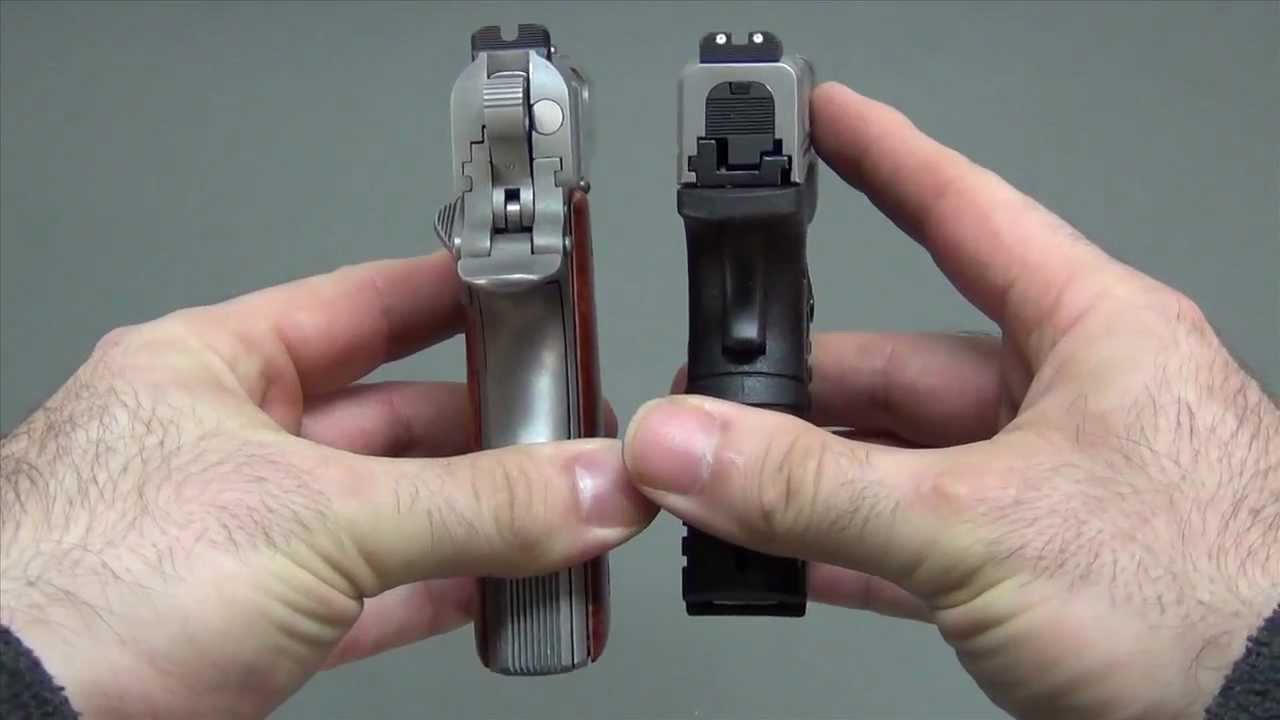 Desert Eagle Vs Glock