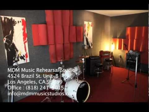 mdm rehearsal studios los angeles youtube. Black Bedroom Furniture Sets. Home Design Ideas