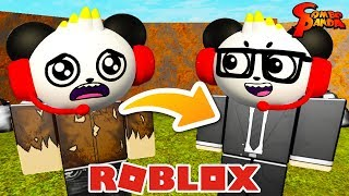 GOING UNDERCOVER AND PRETENDING TO BE HOMELESS IN ROBLOX! Let's Play Bloxburg with Combo Panda