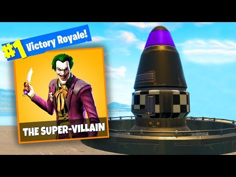 THE SUPER VILLAIN Challenge In Fortnite Battle Royale
