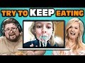 College Kids React To Try To Keep Eating
