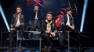 Union J sing Kelly Rowland