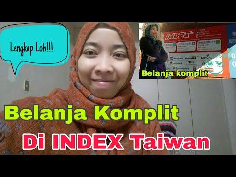 Belanja Di Toko Indonesia INDEX ( Taiwan )