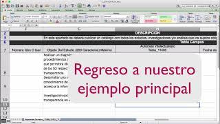 video sobre captura de información en formatos tipo tabla