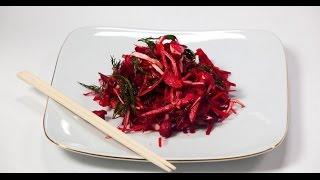 Фитнес-салат «Метла» | 7 нот вегетарианской кухни
